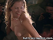 Drunken College Girl Wet T-Shirt Contest